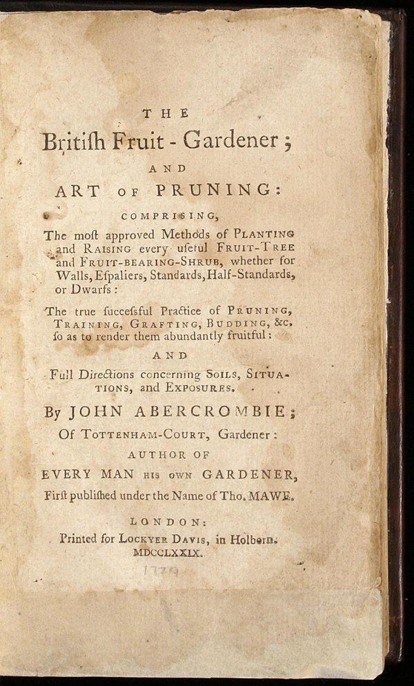 1001: The British Fruit-Gardener; and Art of Pruning: C