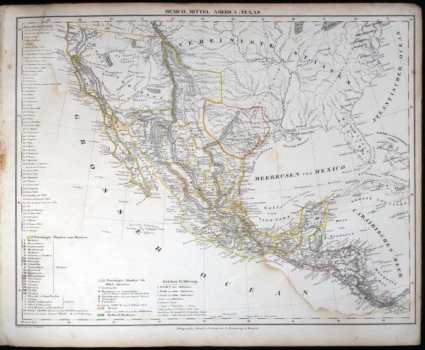 1017: Vollständiger Hand-Atlas der neueren Erdbeschreib