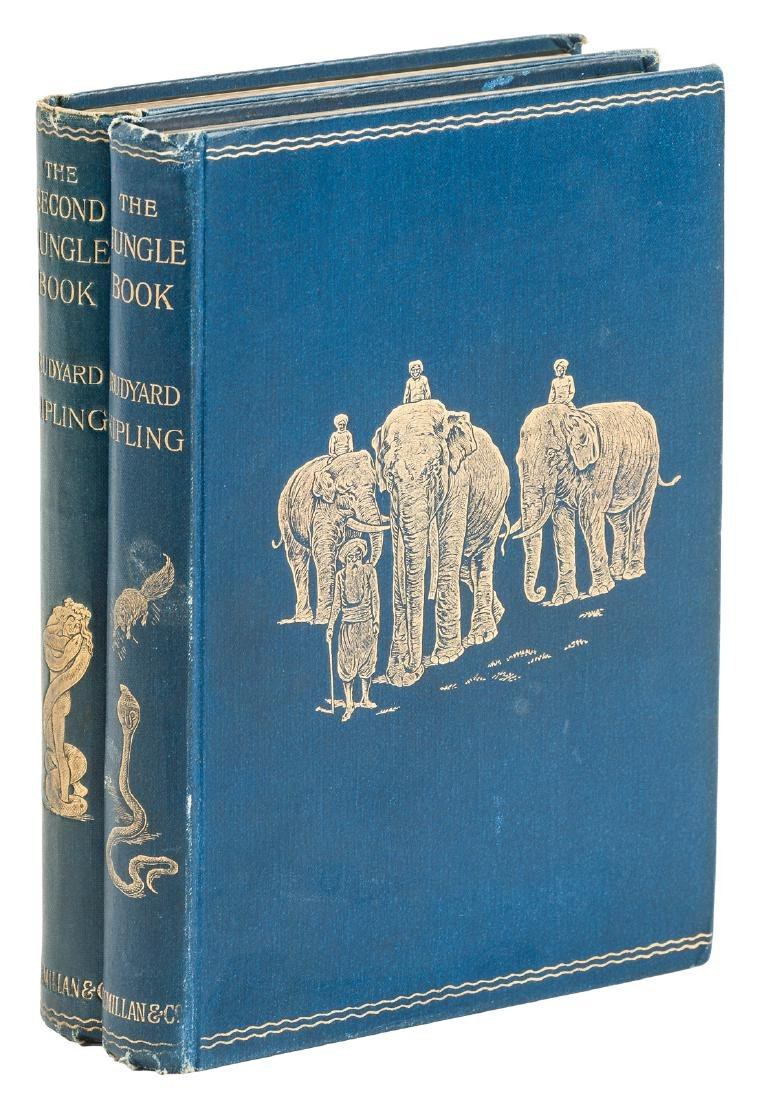 Kipling's first and second Jungle Books