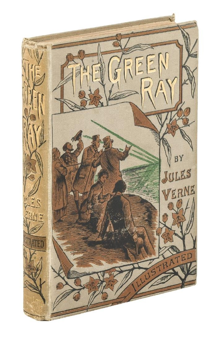 Jules Verne The Green Ray 1st English Edition
