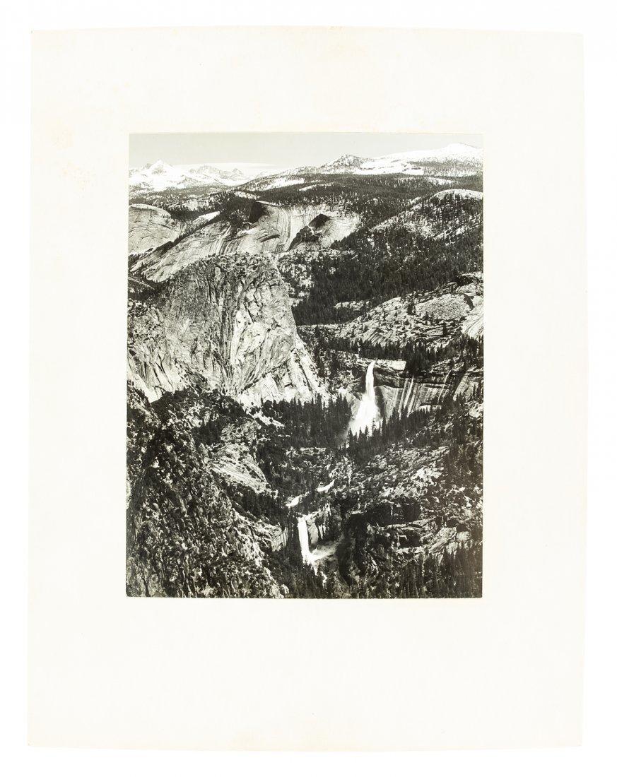 Ansel Adams Yosemite photograph