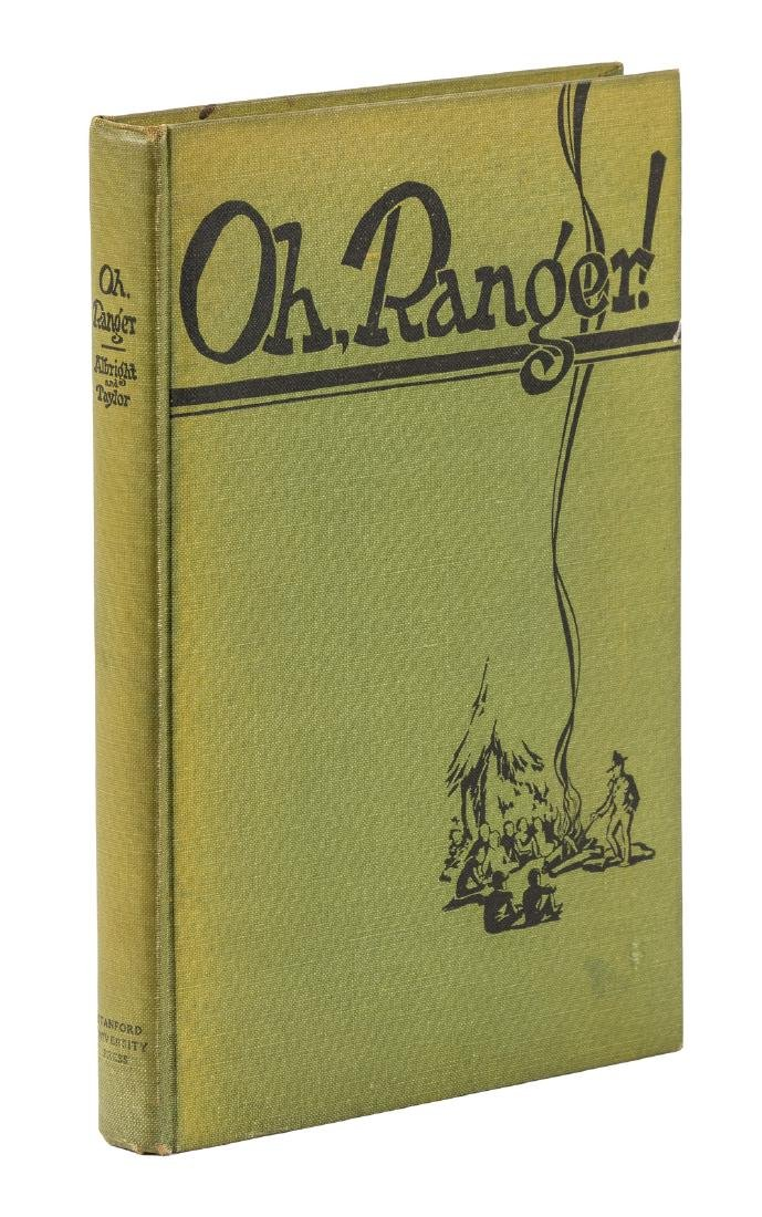 """Oh, Ranger!"" inscribed by Horace M.  Albright"