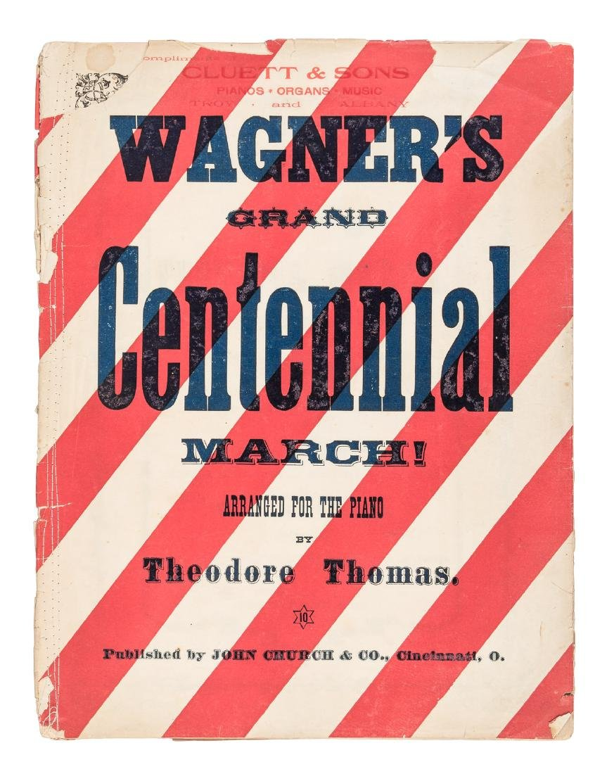 1876 American Centennial March by Richard Wagner