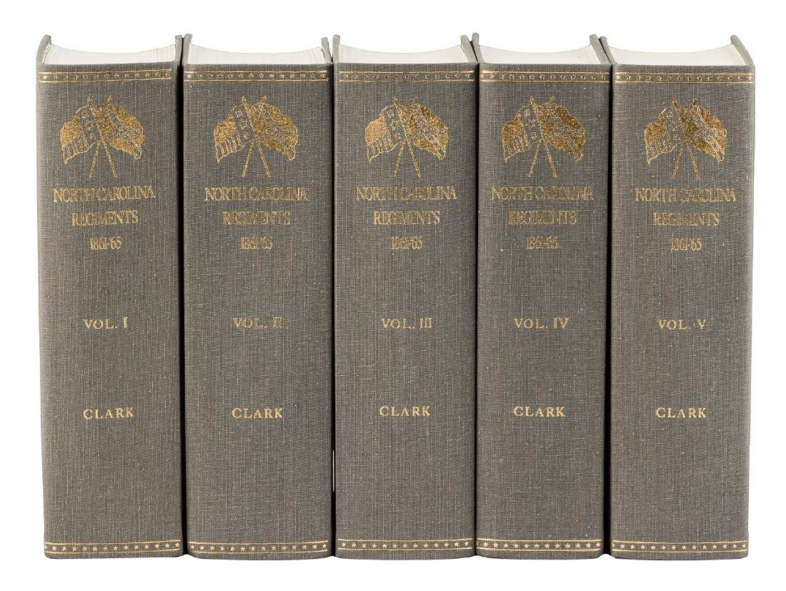Histories of the North Carolina regiments in the Civil