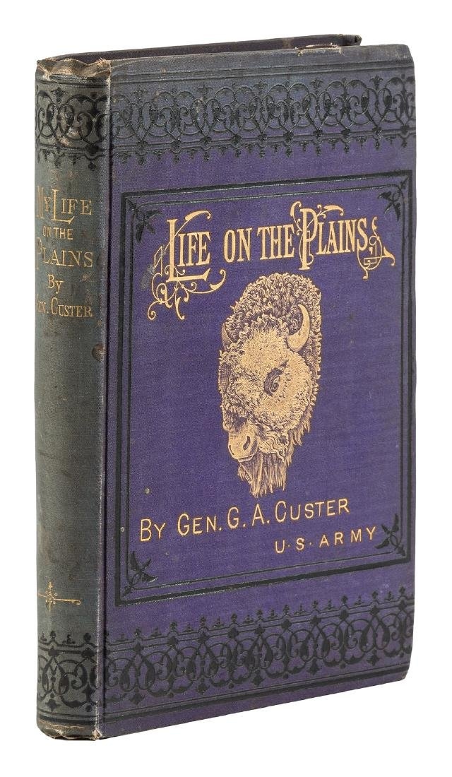 General Custer's Life on the Plains