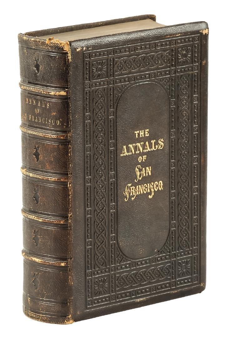 Annals of San Francisco Alfred Sutro's copy