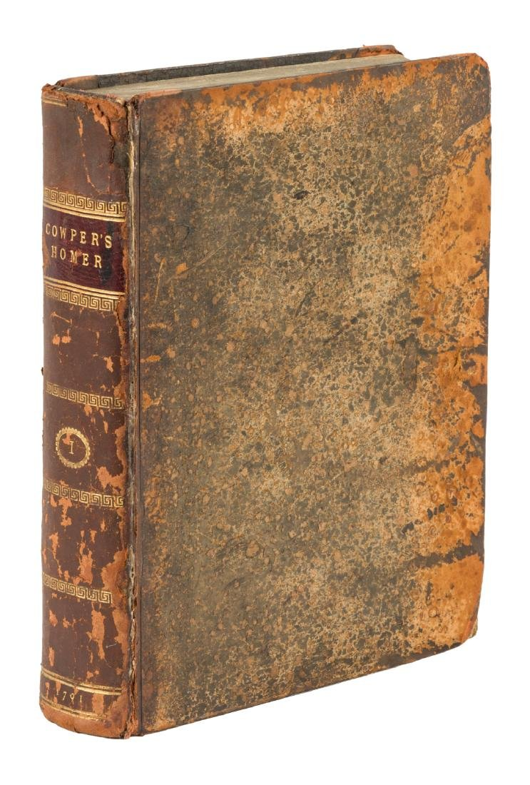 Cowper's Translation of the Iliad 1791