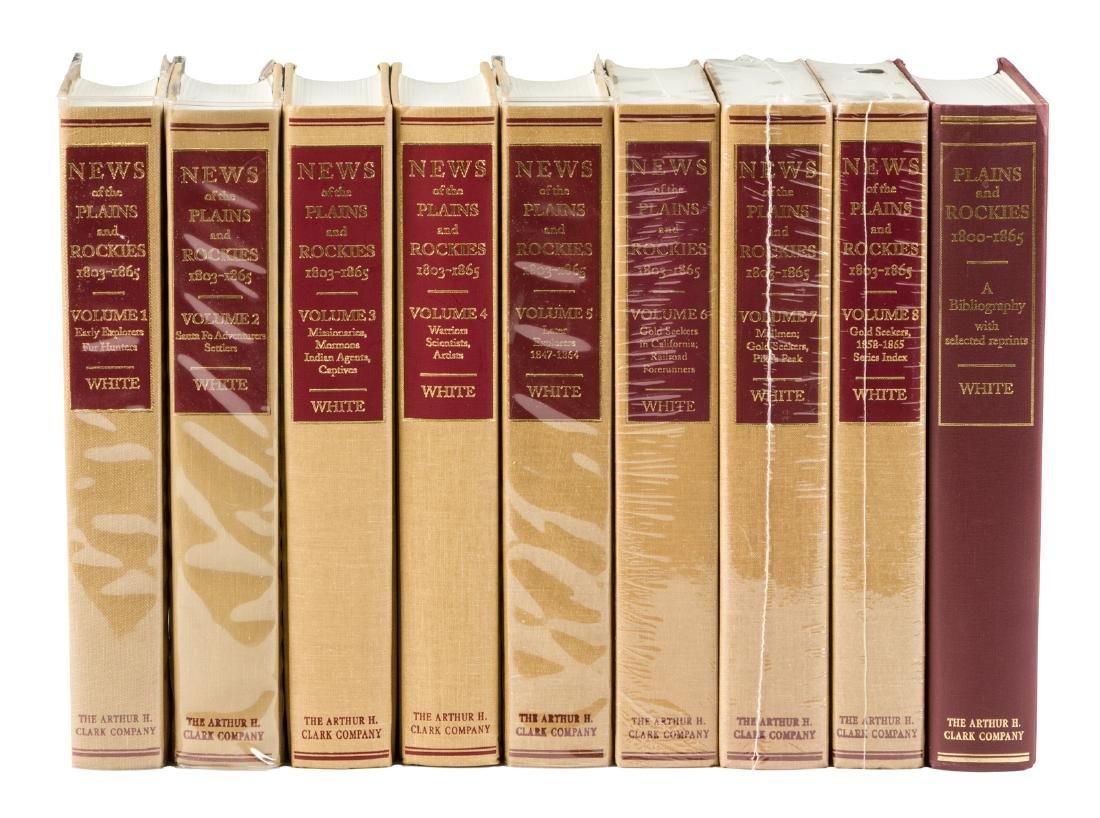 News of the Plains & Rockies, 1803 - 1865 9 vols