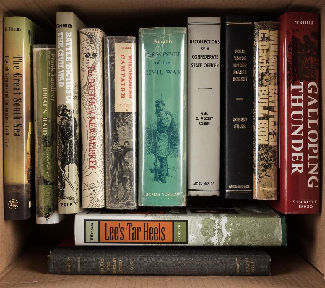 Twelve volumes on the Civil War