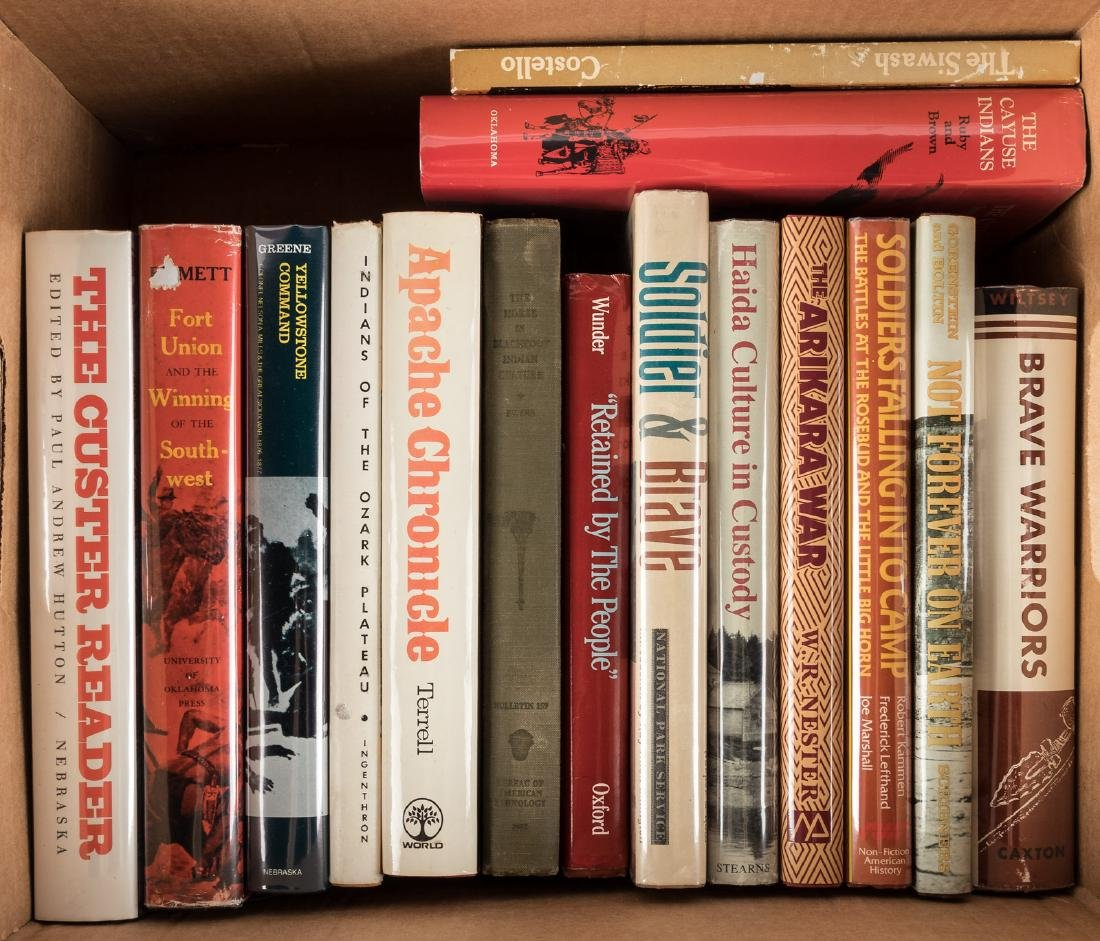 Fifteen volumes on Native Americans