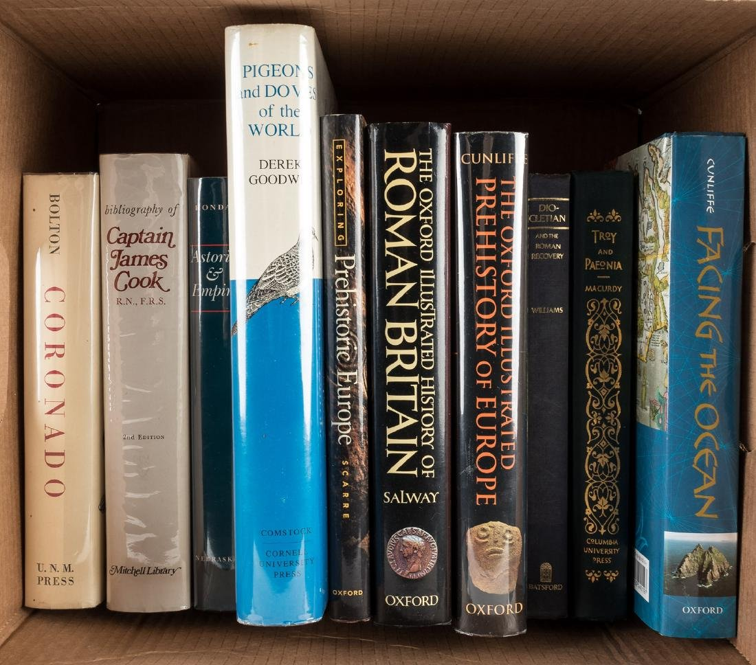 Ten volumes of exploration and world history
