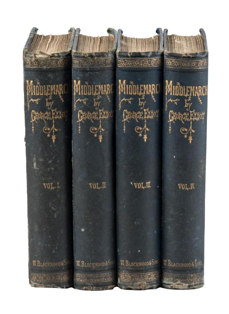 George Eliot Middlemarch First Edition.