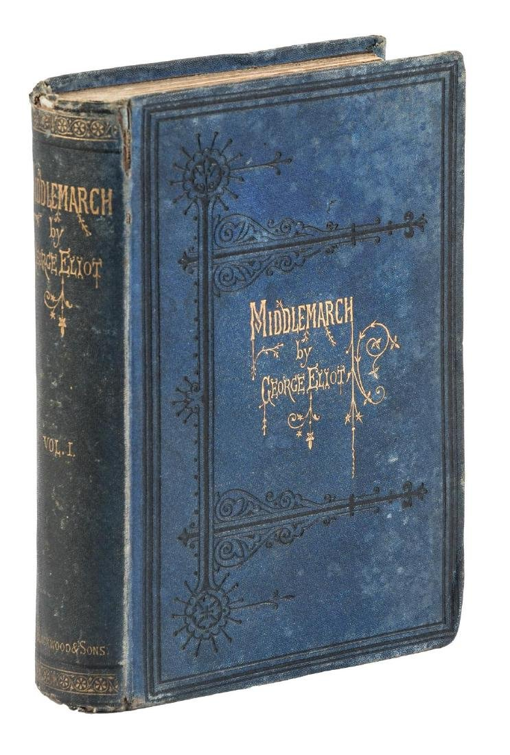 George Eliot Middlemarch First Edition. - 3
