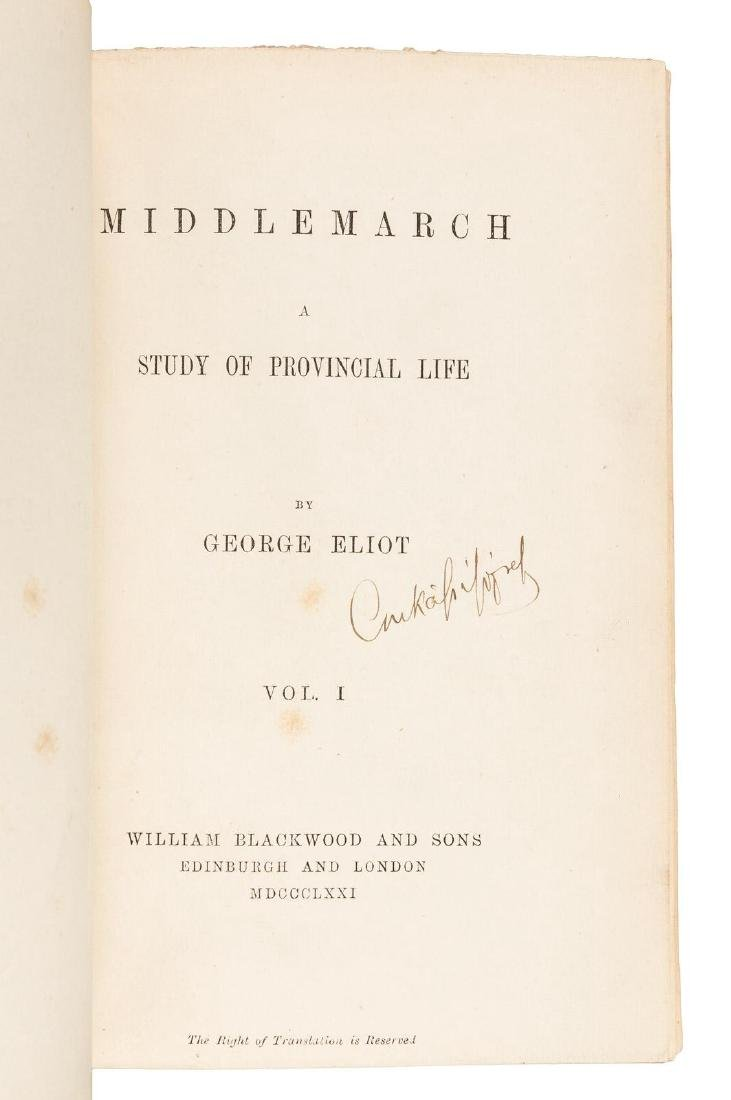 George Eliot Middlemarch First Edition. - 4