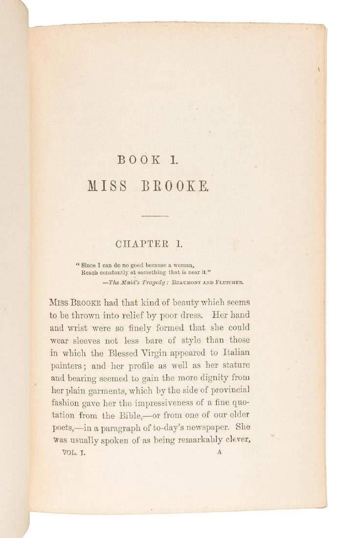 George Eliot Middlemarch First Edition. - 5
