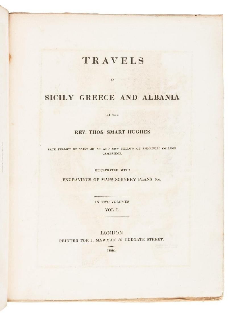 Hughes Travels in Sicily Greece and Albania