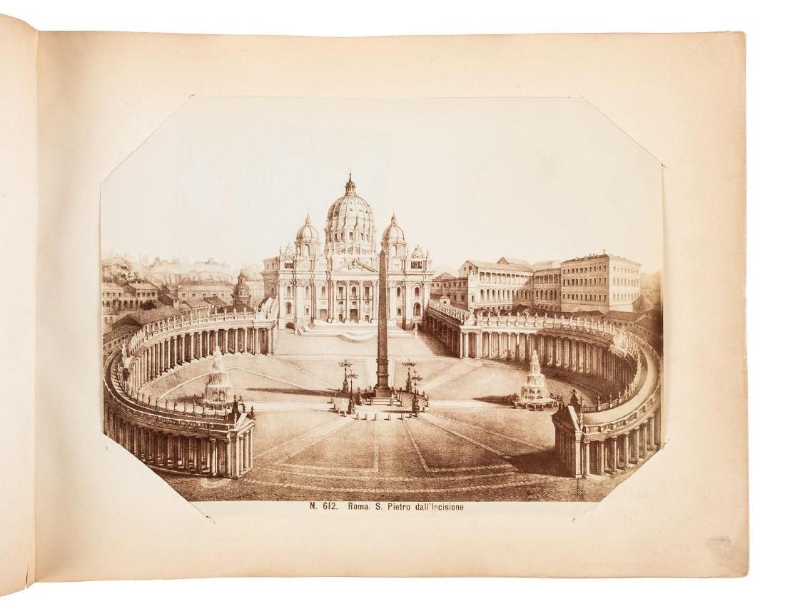 Late 19th century Italian albumen photo album