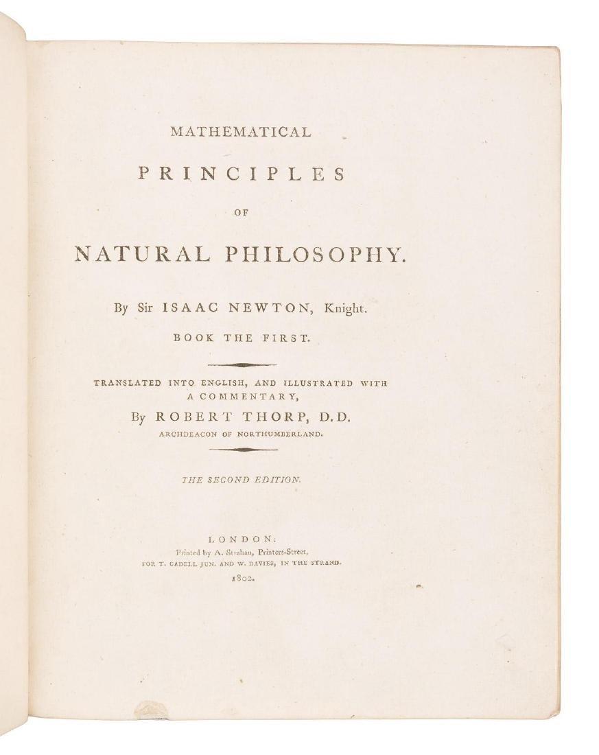 Newton's Principia in English 1802 - 3