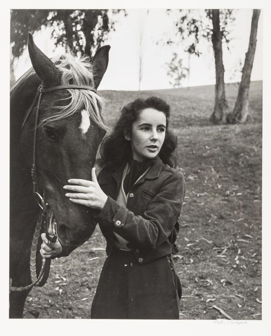 Peter Stackpole photograph of Elizabeth Taylor