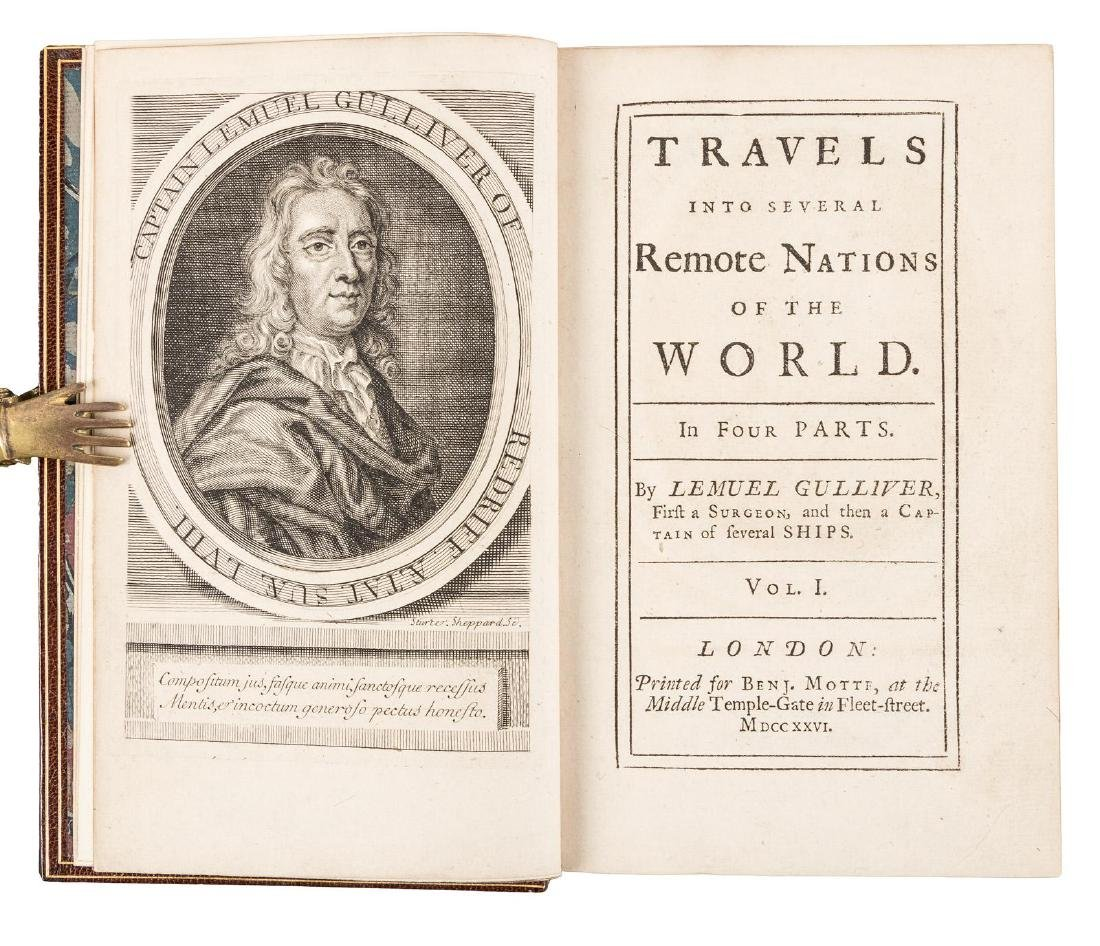 First edition of Gulliver's Travels, 1726 - 3