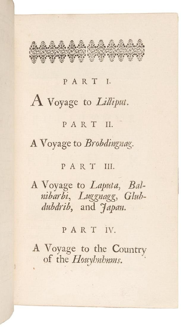 First edition of Gulliver's Travels, 1726 - 4