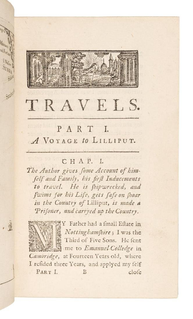 First edition of Gulliver's Travels, 1726 - 5