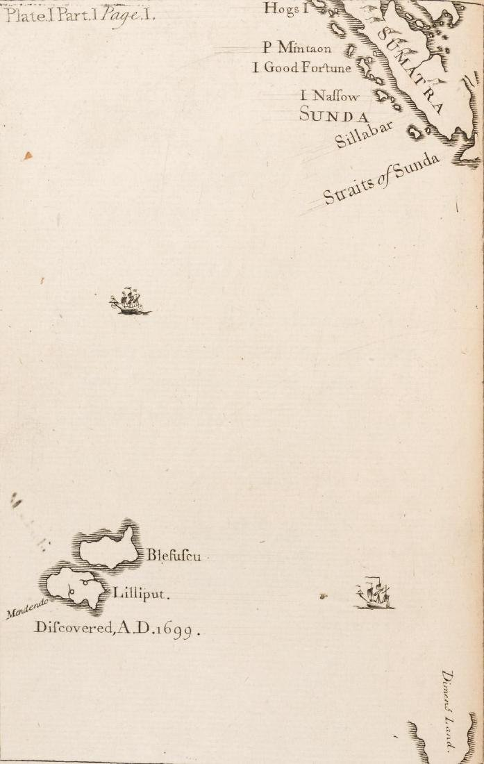 First edition of Gulliver's Travels, 1726 - 6