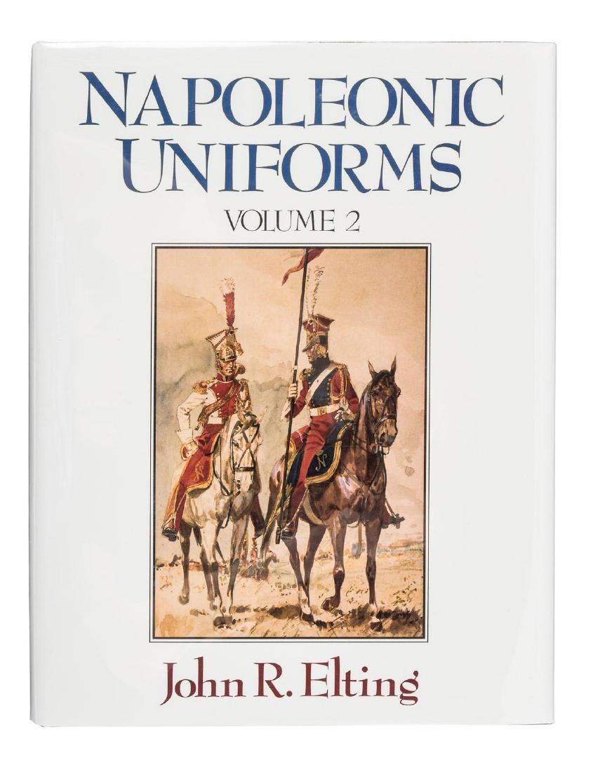 Napoleonic Uniforms, Vol. I-IV profusely illustrated