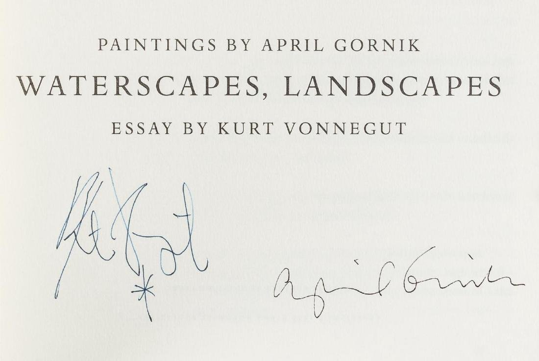 1 of 100 Waterscapes, Landscapes signed by Vonnegut and - 3