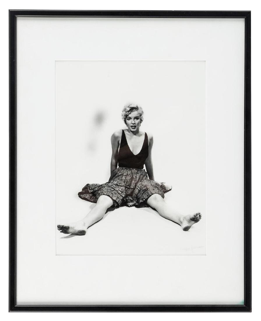 Philippe Halsman photograph of Marilyn Monroe
