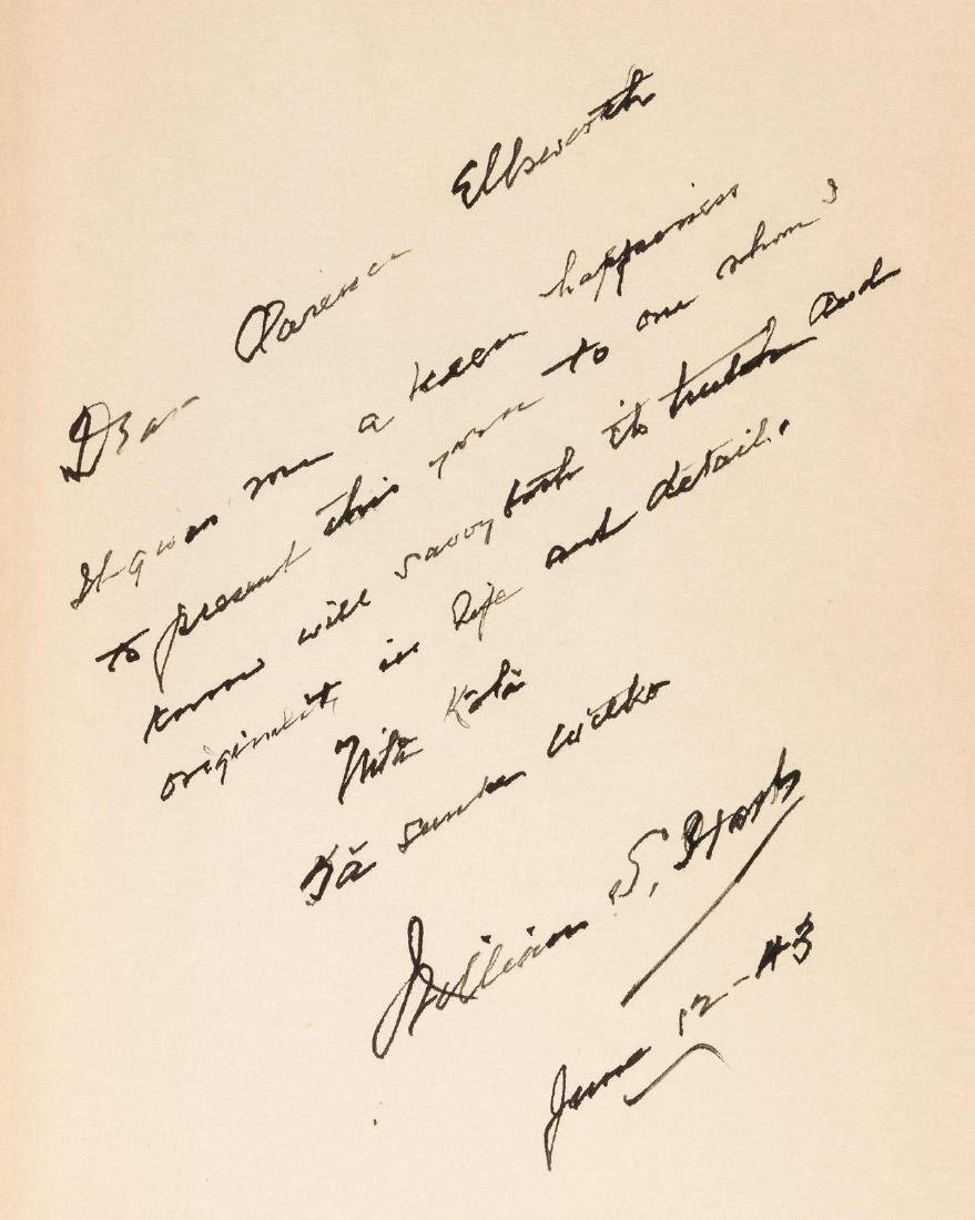 Inscribed by William S. Hart to Clarence Ellsworth - 3