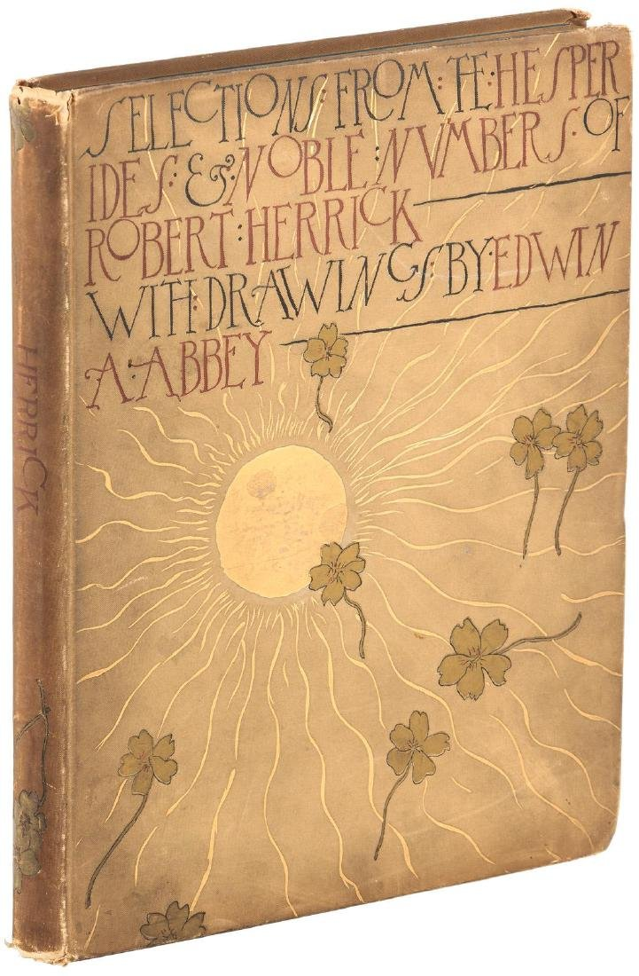 American decorated binding Edwin Abbey
