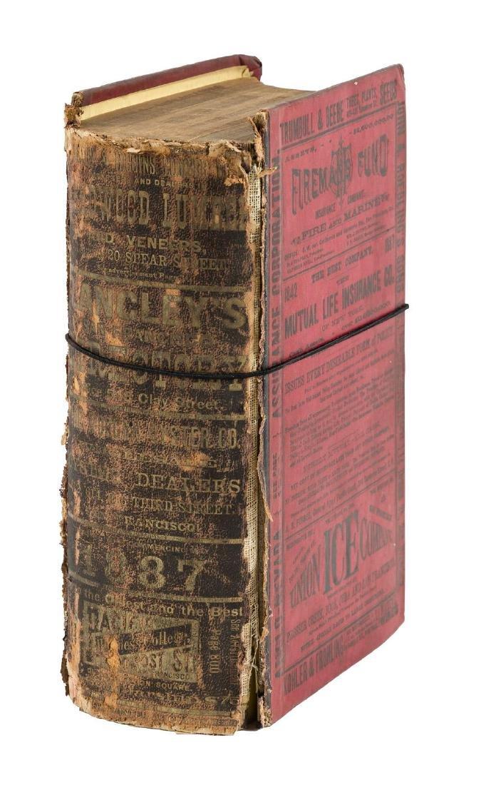 1887 San Francisco Directory - 2