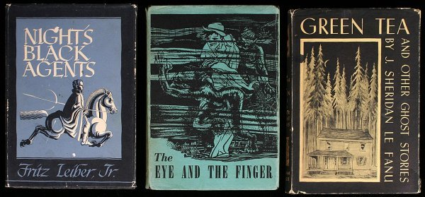 5: Lot of 3 titles published by Arkham House