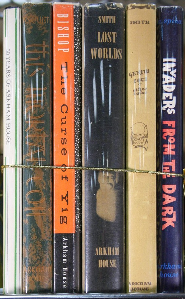 6: Lot of 7 titles published by Arkham House