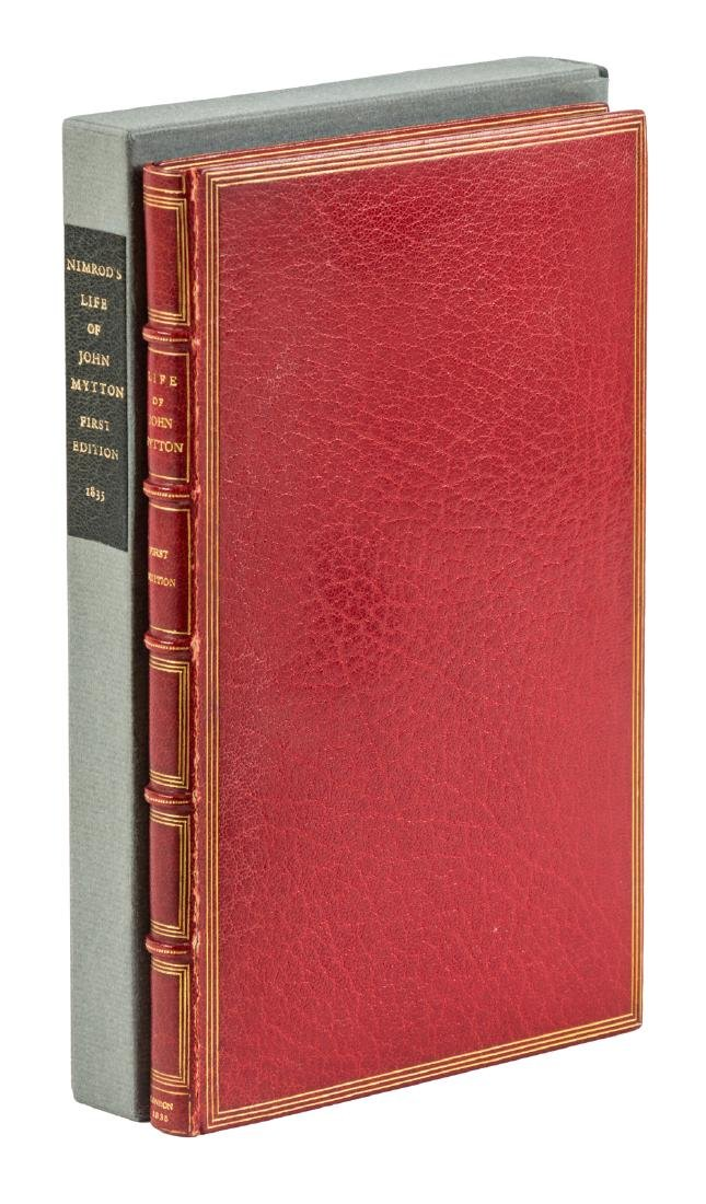 Memoirs of the Late John Mytton 1835