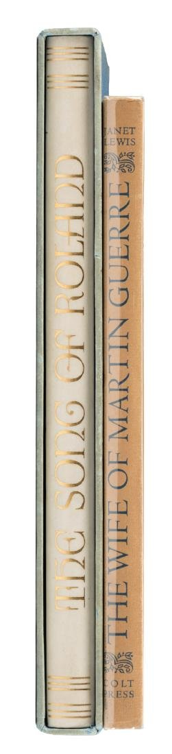 Two volumes illustrated by Valenti Angelo