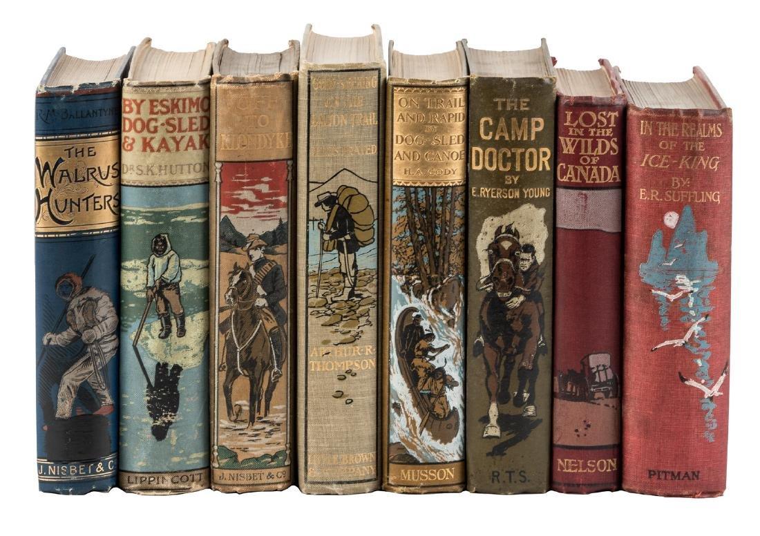 8 Adventure novels for kids in pictorial bindings
