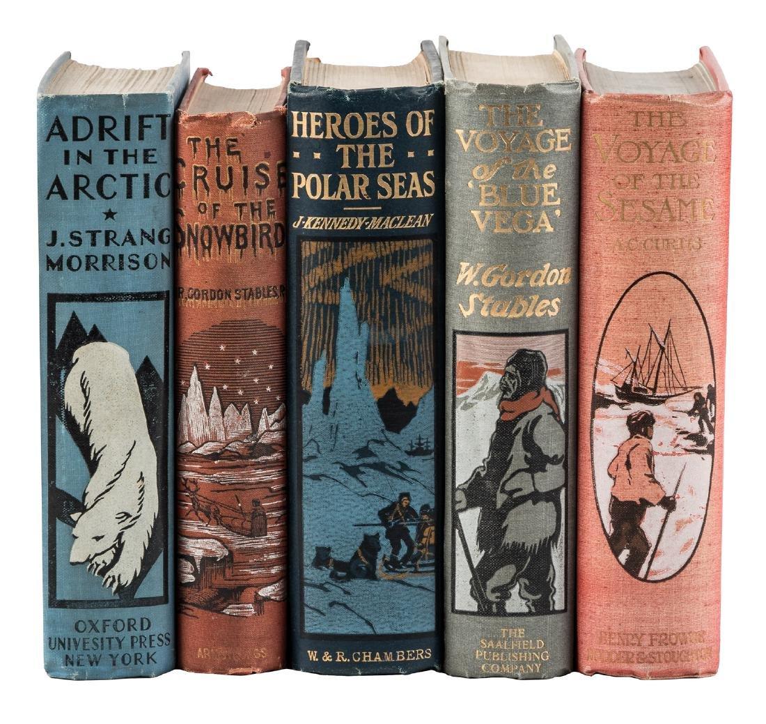 Five adventure novels of the frozen north