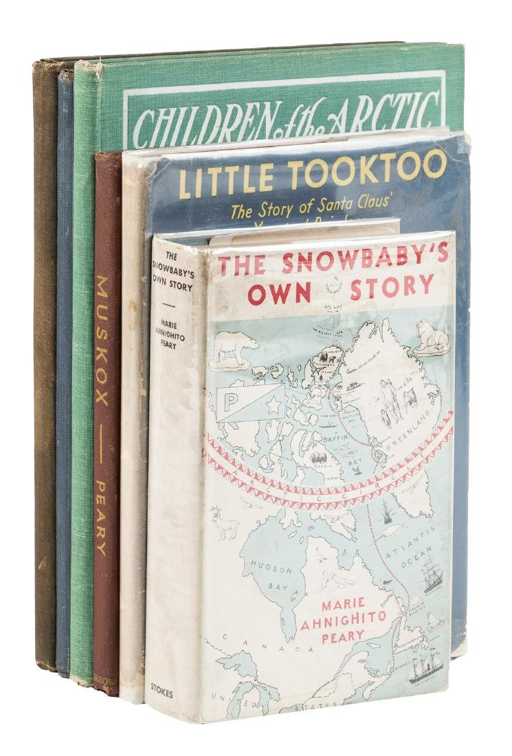 Tales of the arctic by Robert Peary and family