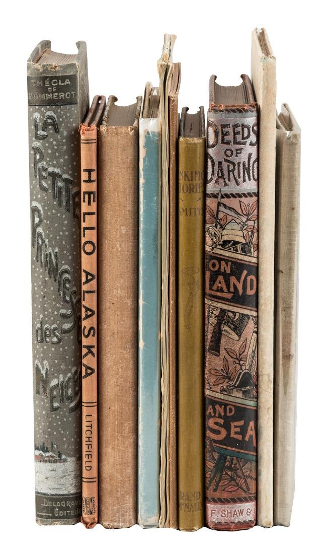 10 volumes of arctic adventure tales for young people