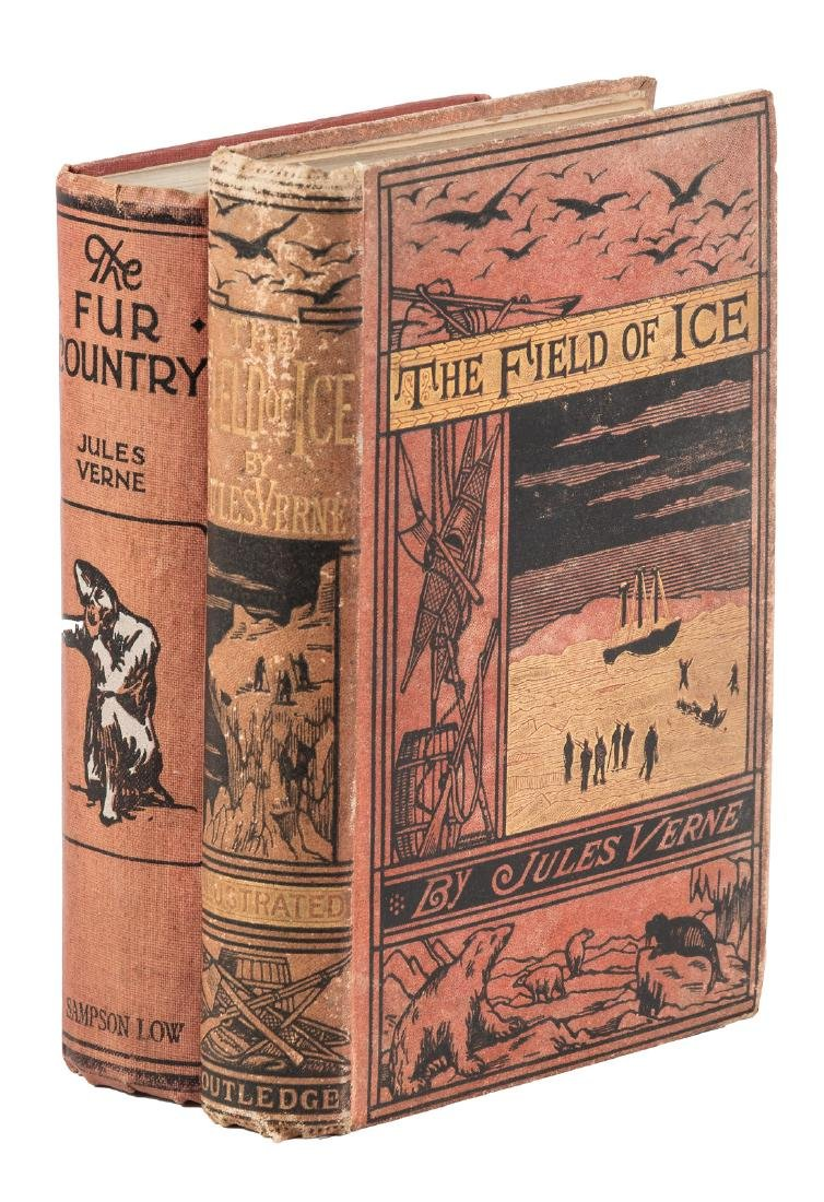 Two tales of arctic adventure by Jules Verne