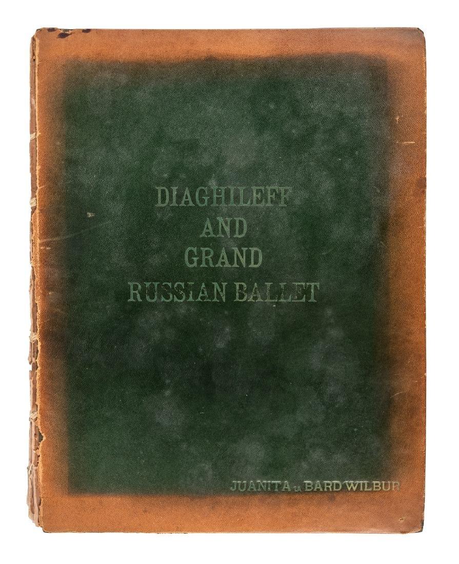 Russian ballet scrapbook 1914-1920