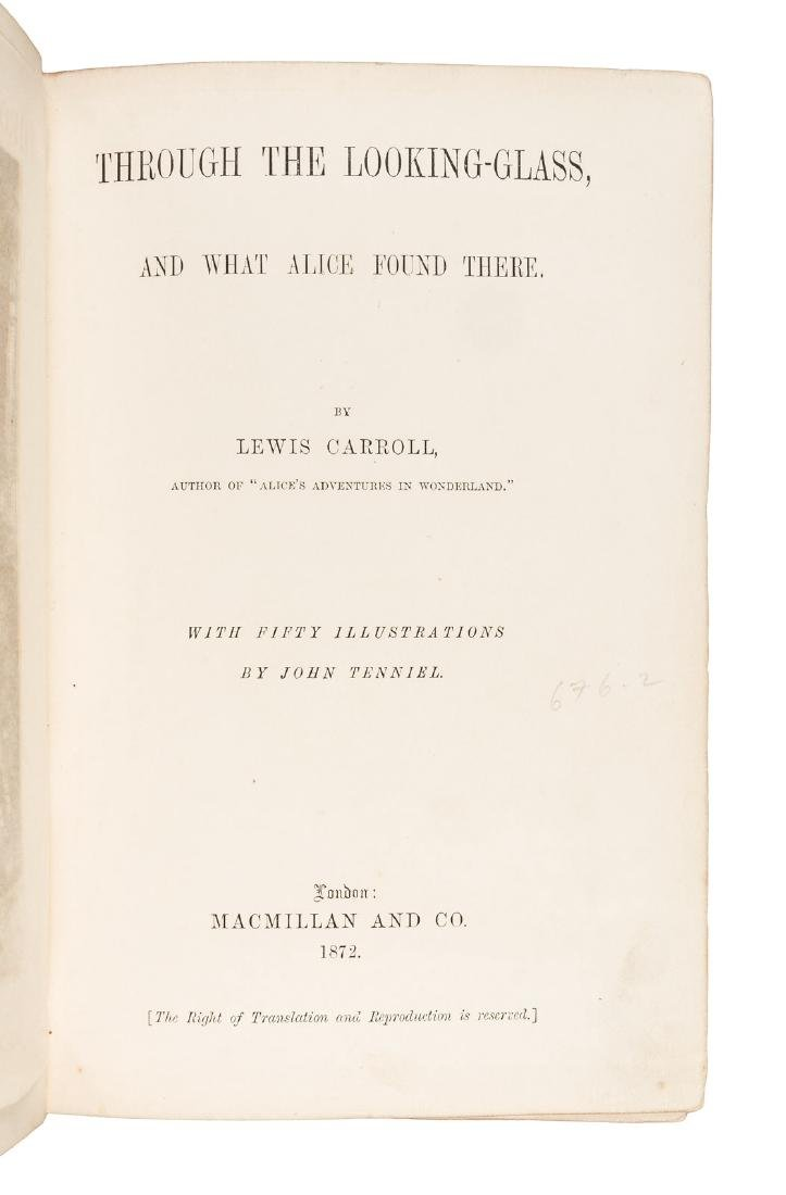 First Edition of Through the Looking Glass - 2