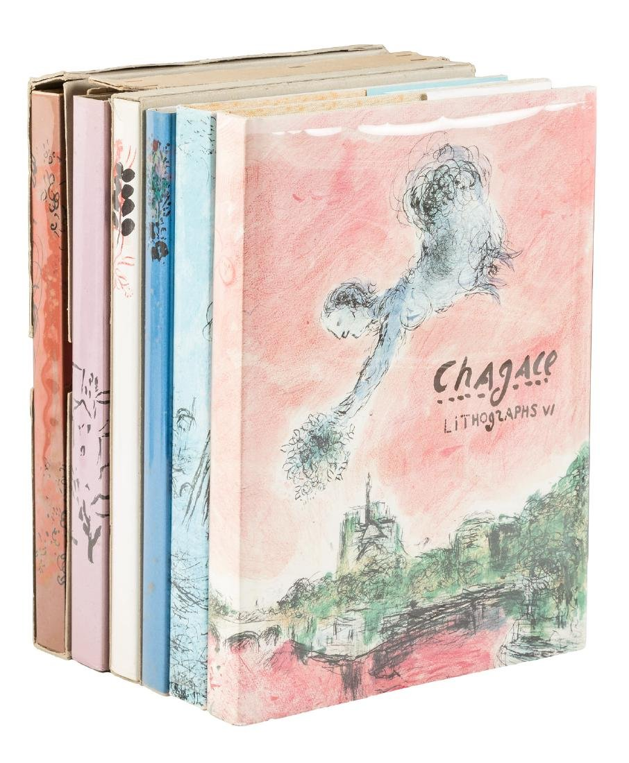 Chagall Lithographs 6 vols.