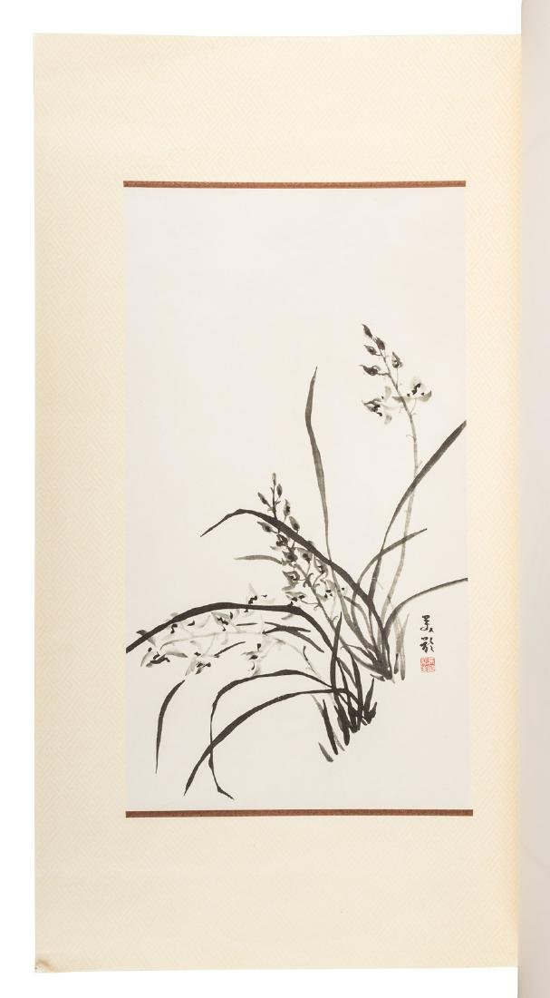Orchid paintings by Madame Chiang Kai-shek - 2