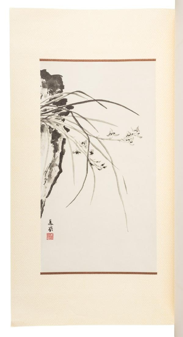 Orchid paintings by Madame Chiang Kai-shek - 3