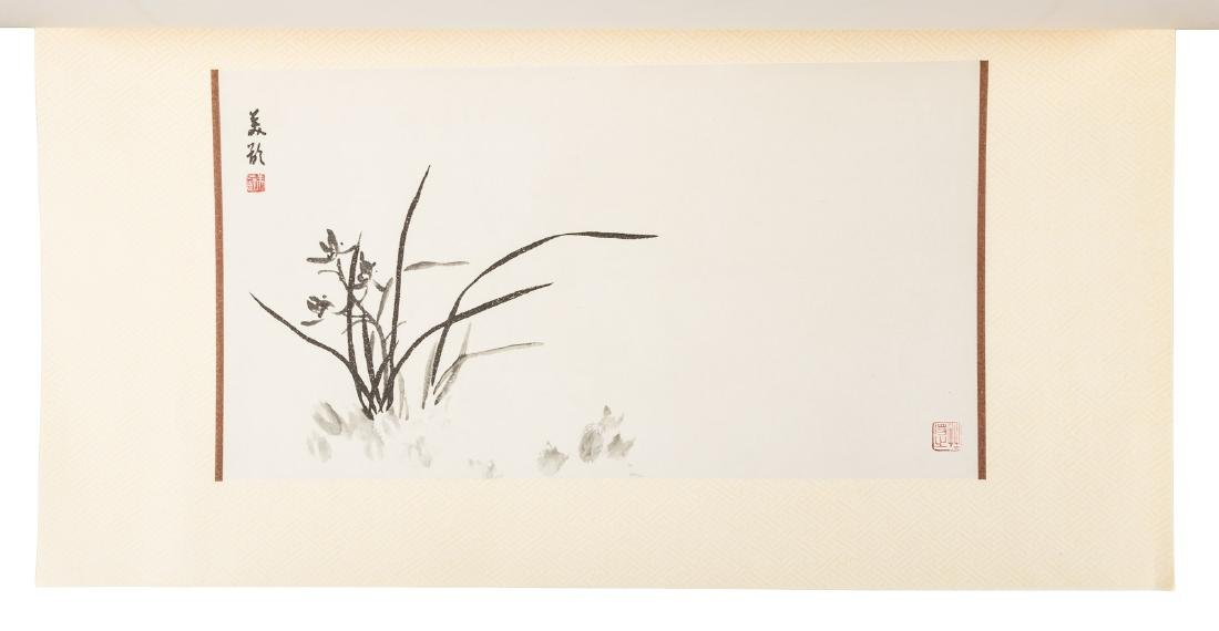 Orchid paintings by Madame Chiang Kai-shek - 4