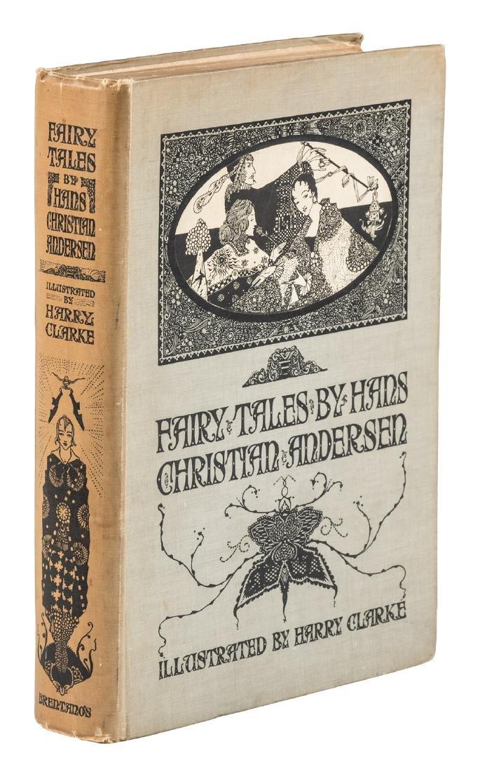 Harry Clarke illustrated Hans Christian Andersen