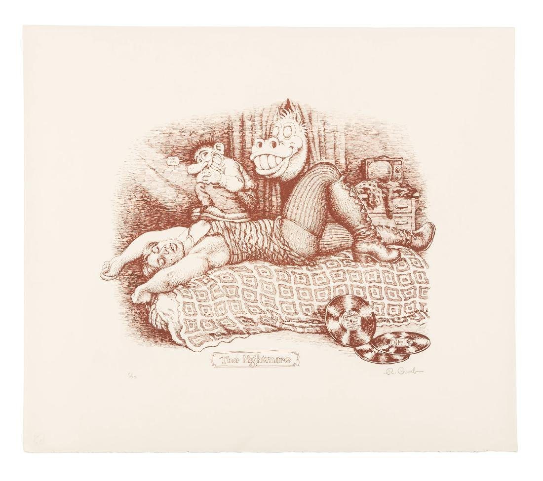 R. Crumb's Nightmare 1/75 printed in sepia